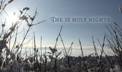 The 12 holy nights between the years